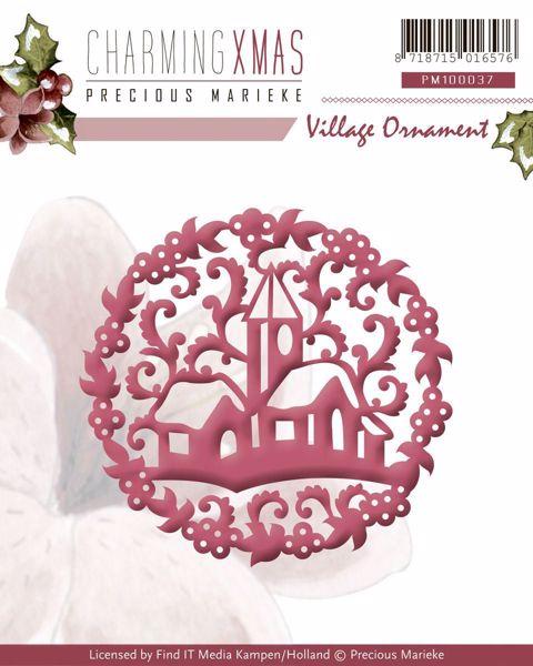 CharmingXmas Village Ornament - Die Standsejern fra Precious Marieke - PM10037