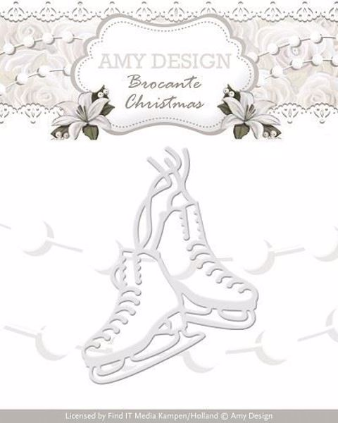 Figure Skates - Skøjter - die Standsejern fra Amy Design - ADD10036