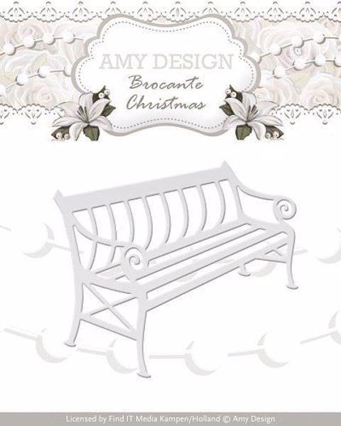 Bench - Bænk - Die Standsejern fra Amy Design - ADD10035