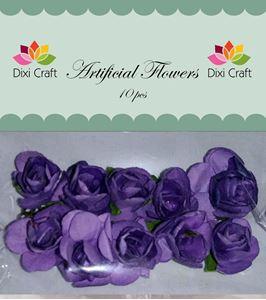 Små lilla blomster fra Dixi Craft - AF002