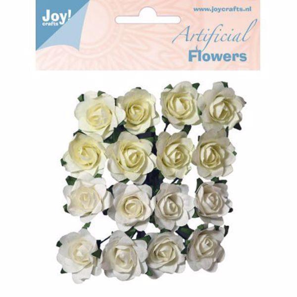 Hvide og Cremehvide roser fra JoyCraft - 6370/0063