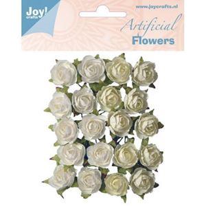 Hvide og Cremehvide roser fra JoyCraft - 6370/0061