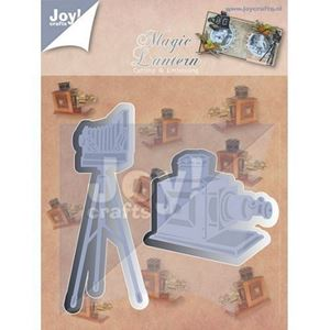 Magic Lantern - Fotoapperater -  Dies Standsejern fra Joy Crafts - 6002/0420 (