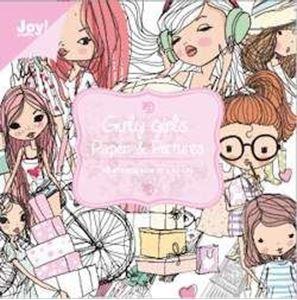 Blok 10x10 cm - Girly Girls - Piger - 6011/0068 fra Joy Crafts