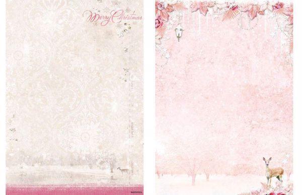 Sweet Winter Season - Hjort - Jul - Designpapir fra Studio Light - SWS204