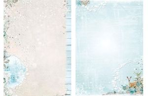 Sweet Winter Season - Hjort - Jul - Designpapir fra Studio Light - SWS2047