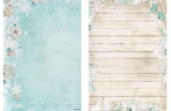 Sweet Winter Season - Hjort - Jul - Designpapir fra Studio Light - SWS2045