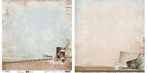 """Winter Memories Designpapir 12"""" fra Studiolight -  WM02"""