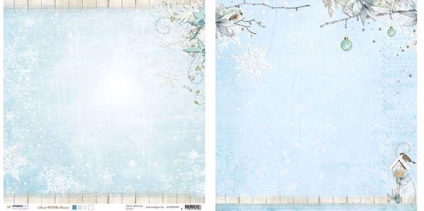 "Sweet Winter Season Designpapir 12"" fra Studiolight -  SWS01"