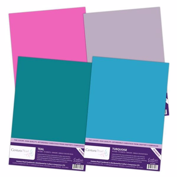 Centura Pearl Single Colour - 300 gram karton - Crafters Companion