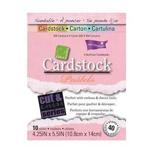 Kartonblok  A6 10,8x14 cm - Core Essentials - Pastels - GX-3000-11