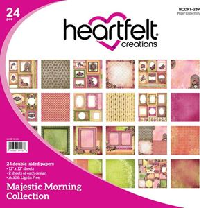 "Majestic Morning HCDP1-239  -  12"" Designpapir blok fra Heartfelt Creations"