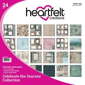 "Celebrate the Journey HCDP1-242  -  12"" Designpapir blok fra Heartfelt Creations"
