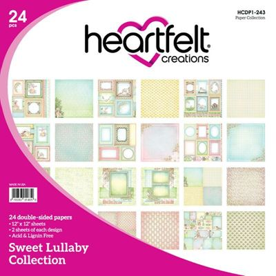 "Sweet Lullaby HCDP1-243  -  12"" Designpapir blok fra Heartfelt Creations"