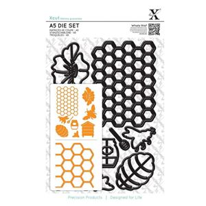 Bee Keeping - Bistade - Xcut diesæt med magnetplade fra Docraft - XCU503241