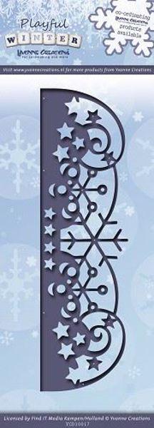 Playful Winter - Die Standsejern fra Yvonne Creations - YCD10017