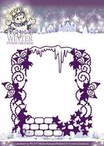 Magisk Ramme med alfer - Magical Winter - Die Standsejern fra Yvonne Designs - YCD10041