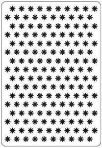 Små blomster - Embossing folder fra Craft-Too You - CTFD3022
