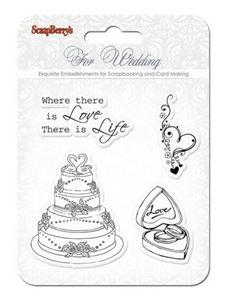 Bryllup stempler - SCB4901011b
