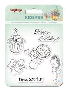 Første Fødselsdag stempler - SCB4901012b