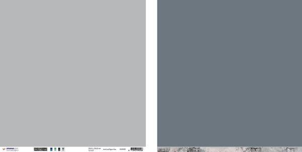 """10 stk Scrapark 12"""" fra Studiolight -  UNIIN20 - Grå"""