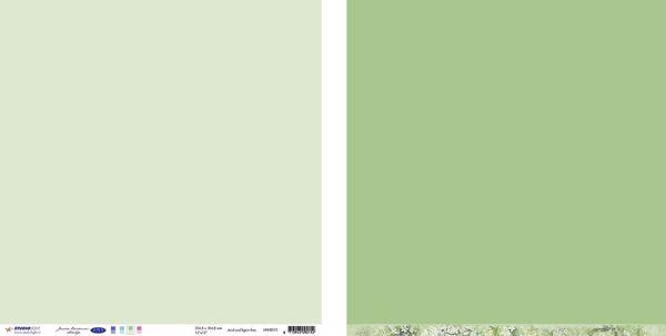 "10 stk Scrapark 12"" fra Studiolight -  UNIJBS15 - Grågrøn"