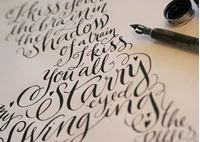 Billede til varegruppe Kalligrafi og kunstner artikler