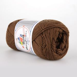 Mayflower Cotton 8 Junior - 1437 Lys chokolade