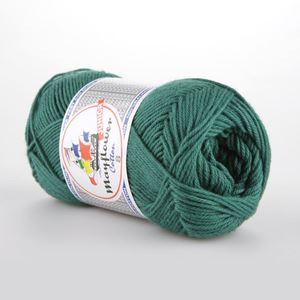 Mayflower Cotton 8 Junior - 1429 Mørk Tegrøn