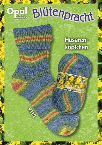 Opal Blütenpracht Strømpegarn nr. 9112