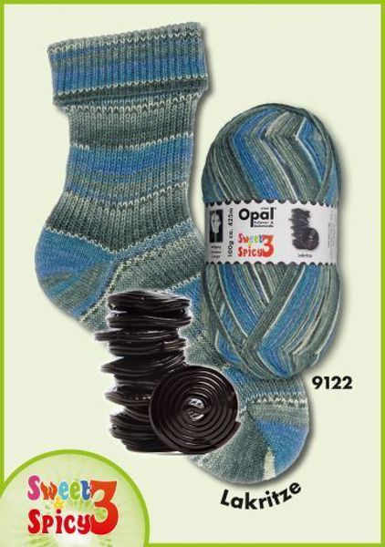 Opal Sweet & Spicy Strømpegarn nr. 9122
