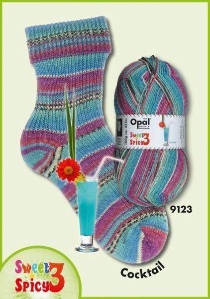 Opal Sweet & Spicy Strømpegarn nr. 9123