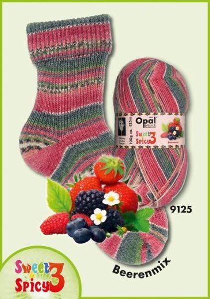 Opal Sweet & Spicy Strømpegarn nr. 9125