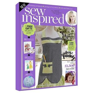 Sew Inspired nr. 3 fra Crafters Companion