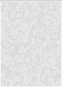 A4 Embossing Folder - Martha 515E fra Tonic Studios