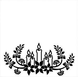 Julelys Embossingfolder fra Nellie Snellen - EFE015