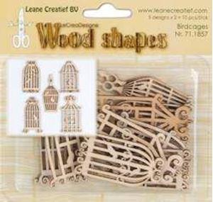 Dekorative træ fuglebure fra Leane Creatief