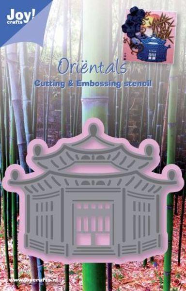 Oriental Pagode die fra Joy Crafts - 6002/0229