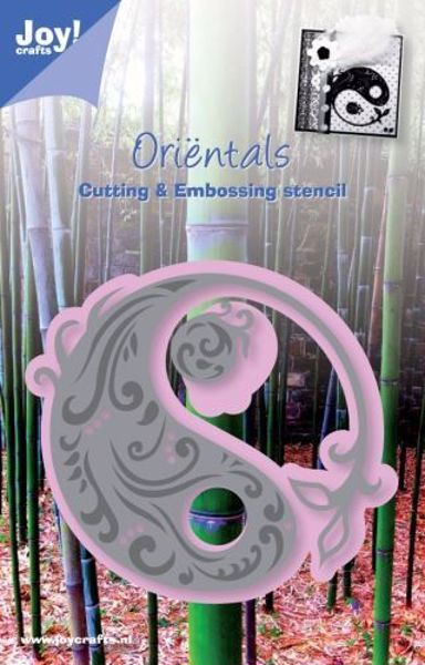 Oriental Yin Yang die fra Joy Crafts - 6002/0231