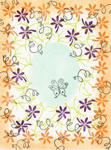 Peg stempelsæt - Floral Vine Border - SFL34004