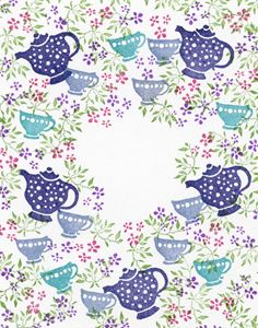 Peg stempelsæt - A Spot of Tea - SHO20027