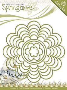 Flowery Nesting Frames - Blomster - Precious Marieke - Springtime