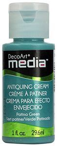DecoArt Media Antiquing Cream - Patina Green - DMM152A