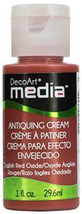 DecoArt Media Antiquing Cream - English Red Oxide - DMM154