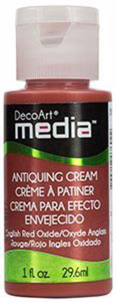 DecoArt Media Antiquing Cream - English Red Oxide - DMM154