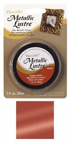 DecoArt Metallic Lustre Wax - Copper Kettle - ML01C