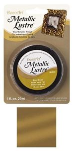 DecoArt Metallic Lustre Wax - Gold Rush - ML02C