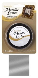 DecoArt Metallic Lustre Wax - Silver Spark - ML03C