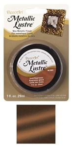 DecoArt Metallic Lustre Wax - Iced Espresso - ML06C