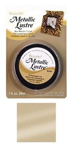 DecoArt Metallic Lustre Wax - Champagne Ice - ML04C